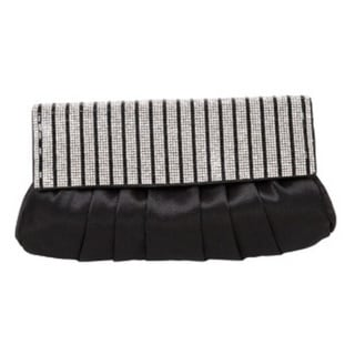 J. Furmani Stripes Pleated Clutch 15976430