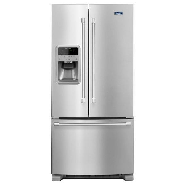 Maytag 21 7 Cubic Foot French Door Refrigerator Mfi2269dr