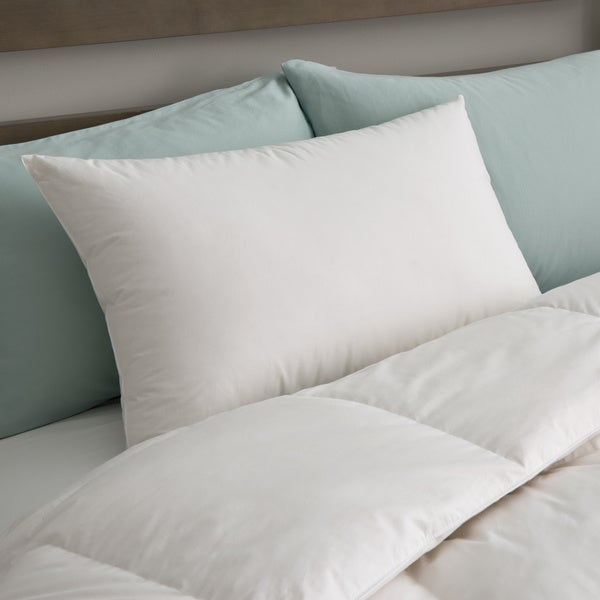 Candice Olson Luxury 550 Fill Power Firm White Down Pillow 233 TC