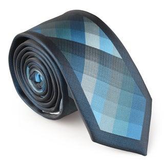 Vance Co. Men's Handmade Microfiber Tie and Hanky Set