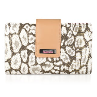 Kenneth Cole Reaction Women's Utility Clutch Wallet With Mirror