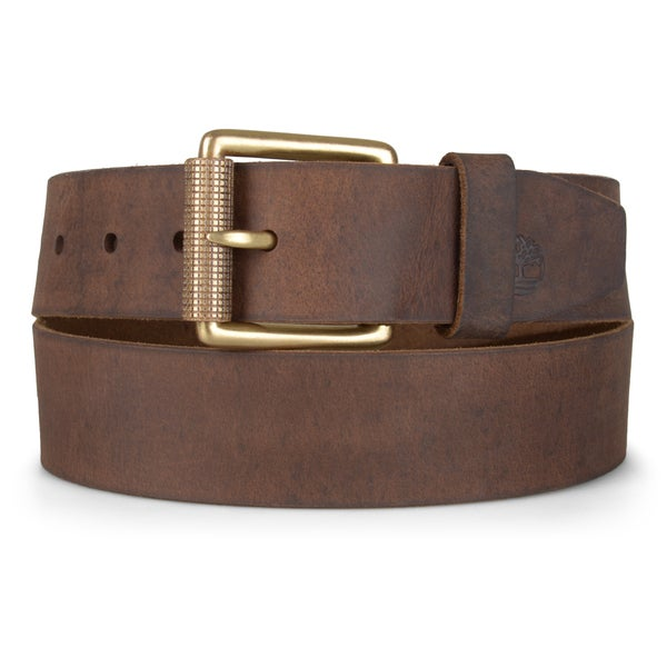 Timberland Men's Distressed Genuine Leather Belt