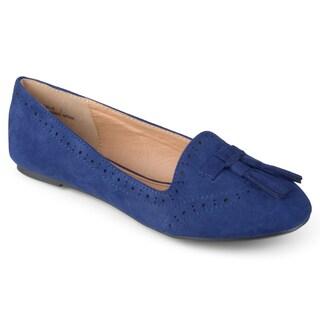 Journee Collection Women's 'Hollis' Tassled Slip-on Loafers