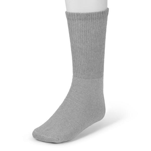 Boston Traveler Men's Set of 3 Loose Fit Diabetic Crew Socks