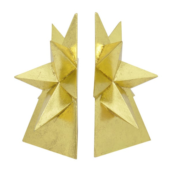 Decorative Gold Star Bookend