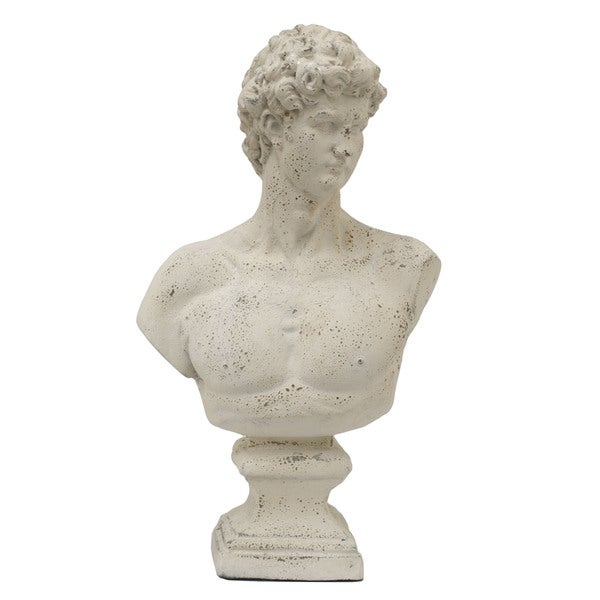 Decorative Resin Male Bust