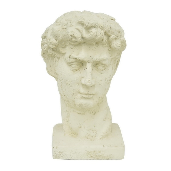 Decorative Ivory Resin Head Statue 15977614