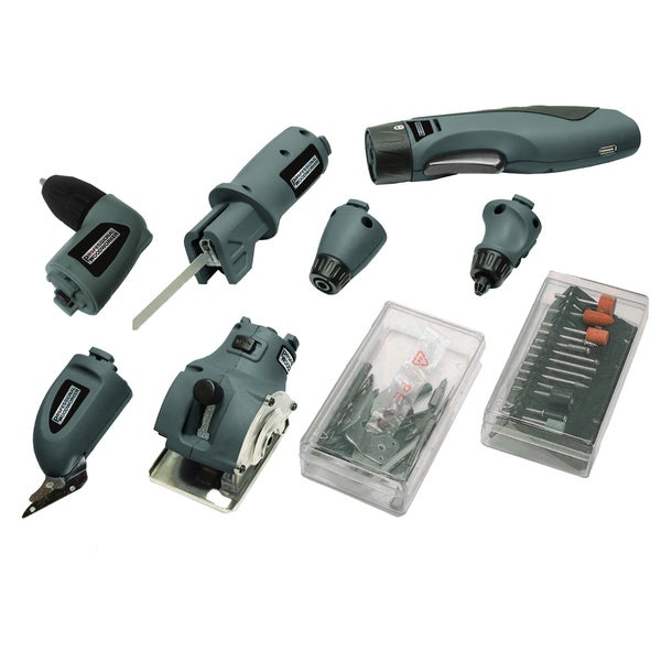 Professional Woodworker 6-in-1 Combo Multi Lithium-Ion Tool
