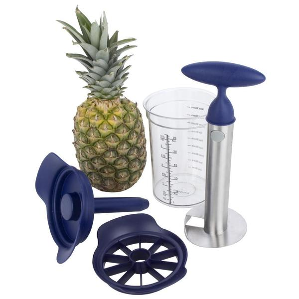 Pineapple Cutter-Slicer and Storage Canister