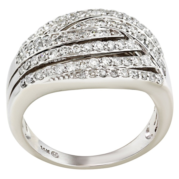 14kt 1 cttw beautiful diamond ring