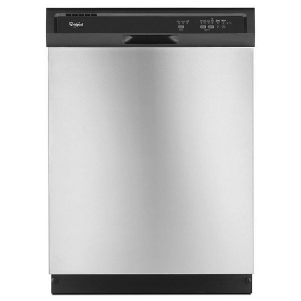 Whirlpool Full Console Dishwasher with 3 Wash Cycles WDF320PA