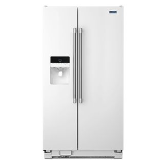 Maytag 21.0 Cubic Foot Side by Side Refrigerator MSF21D4MD