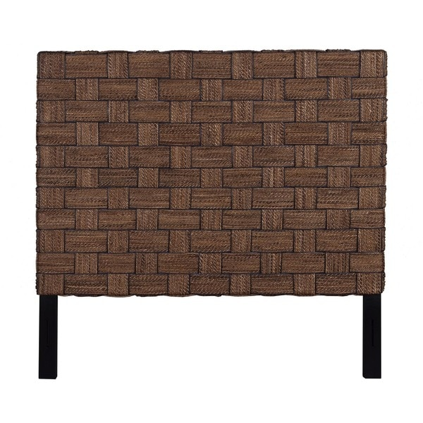 Mead Natural Rustic Abaca Queen Headboard Free Shipping Today