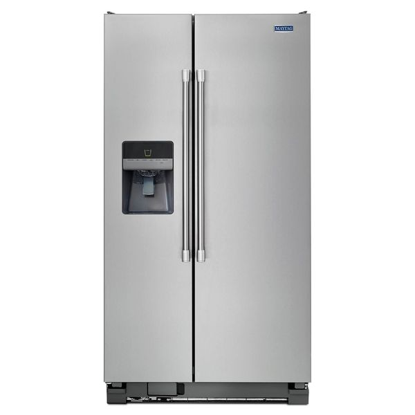 Maytag 25 0 Cubic Foot Side By Side Refrigerator Msf25d4md
