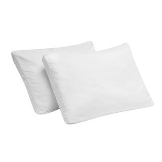 Bodipedic Gel Memory Foam Micro-Cushion Gusset Pillow (Set of 2)