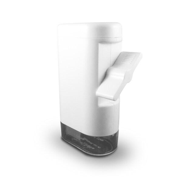 Peppermate Tradtional Turnkey Adjustable Grind Gourmet Pepper Mill and Salt Grinder (White)