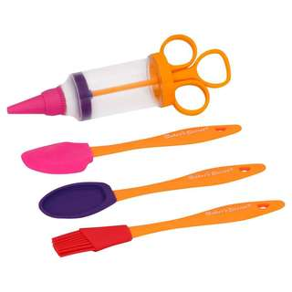 Baker's Secret Kids Baking Tools 4-piece Set