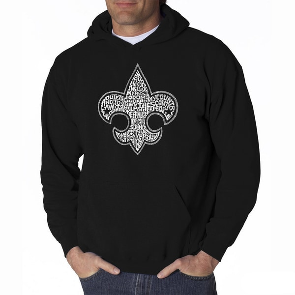 LA Pop Art Men's Boy Scout Hooded Sweatshirt