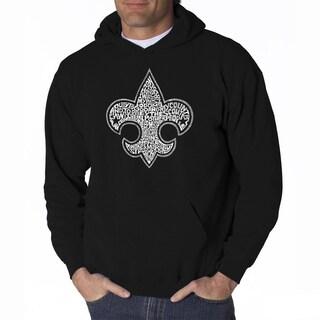 LA Pop Art Men's Boy Scout Hooded Sweatshirt
