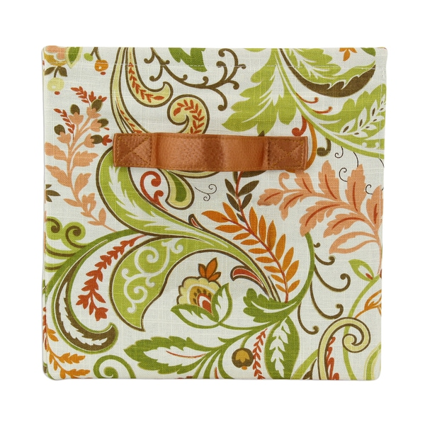 Findlay Apricot Storage Bin with Handle