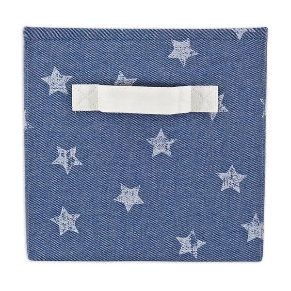 Denim Stars Storage Bin with Handle