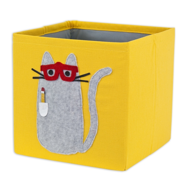 Duck Yellow Storage Bin with Smart Kitty