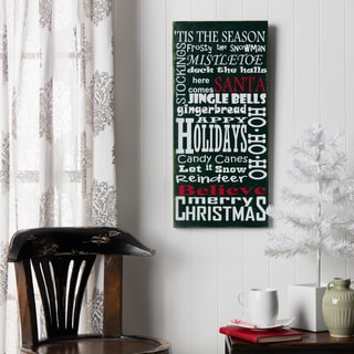 Tis The Season Wood Decor Accent