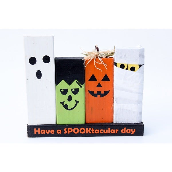 Have a Spooktacular Day Wood Decor Accent