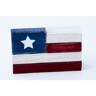 Flag 2x4 Wood Decor Accent