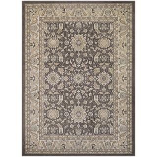 Couristan Konya Tomek/ Light Brown-Ivory Rug (8'2 x 11'1)