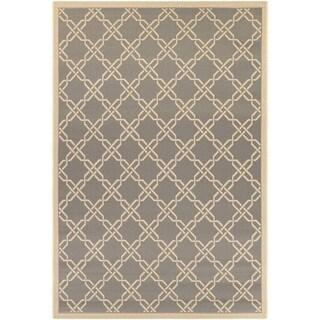 Couristan Five Seasons Sun Island/ Slate-Cream Rug (7'10 x 10'9)