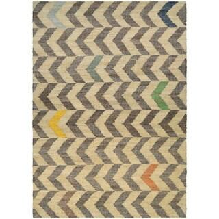 Couristan Mesquite Encino/ Linen-Cocoa Rug (9'6 x 13'6)