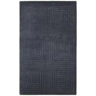 Couristan Matrix Abyss/ Plum Rug (9' x 12')