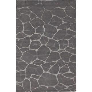Couristan Impressions Flagstone/ Grey-Silver Rug (10' x 14')