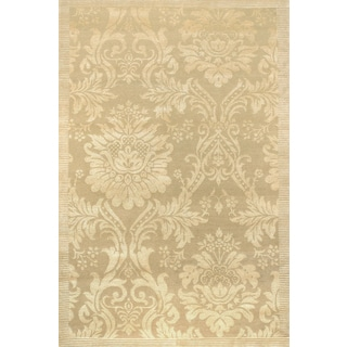 Couristan Impressions Antique Damask/ Gold-Ivory Rug (10' x 14')