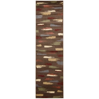 Nourison Expressions Chocolate Runner Rug (2'3 x 8')