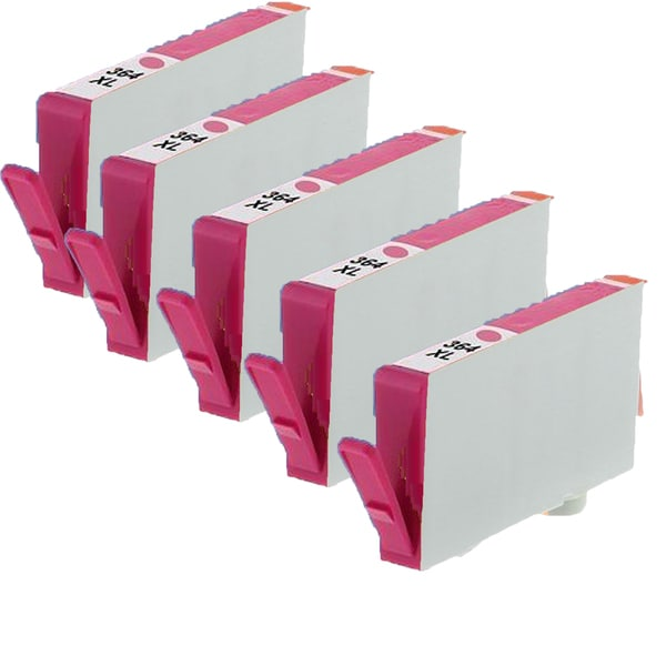 364XL M (CB319EE) Compatible Inkjet Cartridge For B8550 B109b C310A-AIO C309a (Pack of 5)