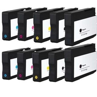 HP CN053AN CN056AN CN055AN CN054AN Compatible Inkjet Cartridge For 6100 H611a 6600 6700 (Pack of 10)