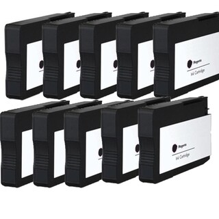 HP 932 XL BK (CN053AN) Compatible Inkjet Cartridge For 6100 H611a 6600 6700 (Pack of 10)