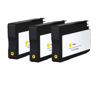 HP 933XL Y (CN056AN) Compatible Inkjet Cartridge For 6100 H611a 6600 6700 (Pack of 3)