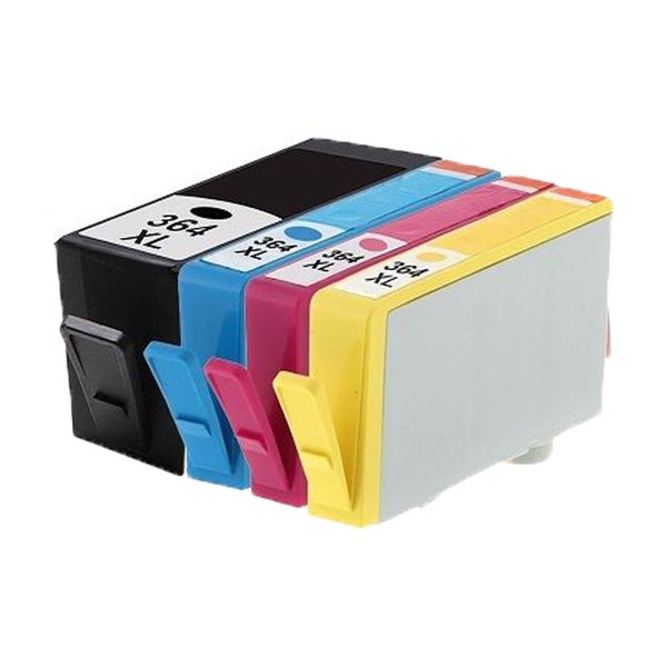 364XL BK (CB316EE) 364XL C (CB318EE) 364XL M (CB319EE) 364XL Y (CB320EE) Compatible Inkjet Cartridge For B8550 (Pack of 4)