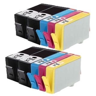 364XL BK (CB316EE) 364XL C (CB318EE) 364XL M (CB319EE) 364XL Y (CB320EE) Compatible Inkjet Cartridge For B8550 (Pack of 10)