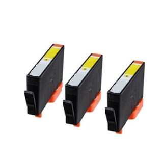 935XL Y Compatible Inkjet Cartridge For 6812 6815 6230 6830 6835 (Pack of 3)