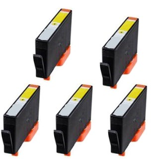 935XL Y Compatible Inkjet Cartridge For 6812 6815 6230 6830 6835 (Pack of 5)