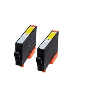 935XL Y Compatible Inkjet Cartridge For 6812 6815 6230 6830 6835 (Pack of 2)