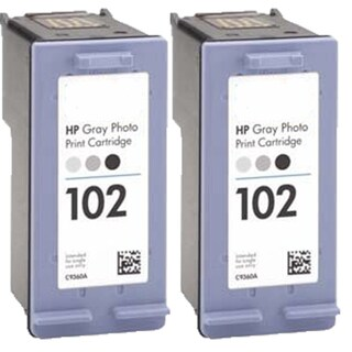 C9360AN HP 102 Compatible Inkjet Cartridge For 8750 8753 (Pack of 2)