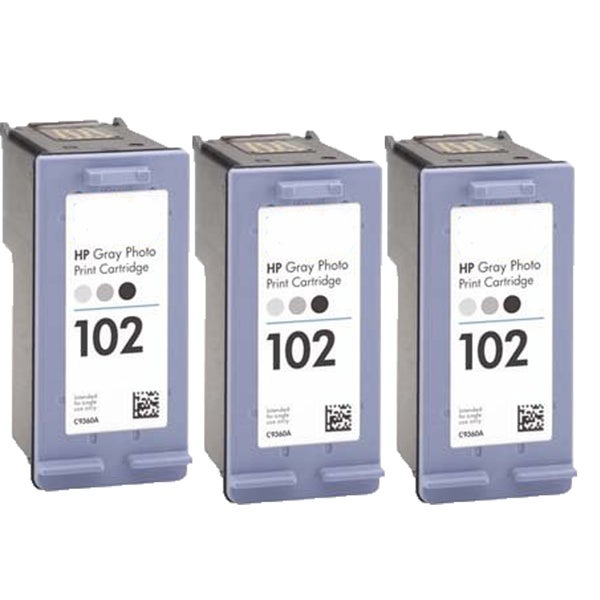 C9360AN HP 102 Compatible Inkjet Cartridge For 8750 8753 (Pack of 3)