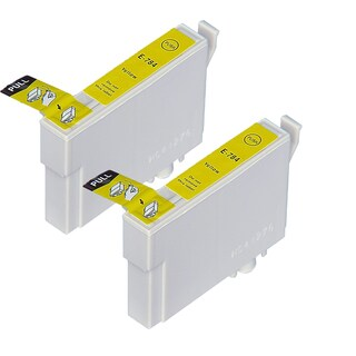 Epson T078420 (T0784) Yellow Replacement Ink Cartridge Photo Stylus Photo R260 Stylus Photo R280 Stylus Photo R380 (Pack of 2)