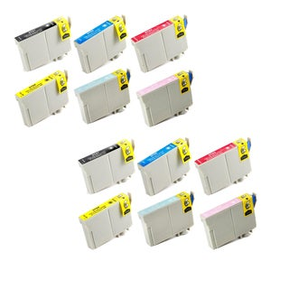 Epson T0791 T0792 T0793 T0794 T0795 T0796 Replacement Ink Cartridge PhotoStylus Photo 1400 1430 (Pack of 12)