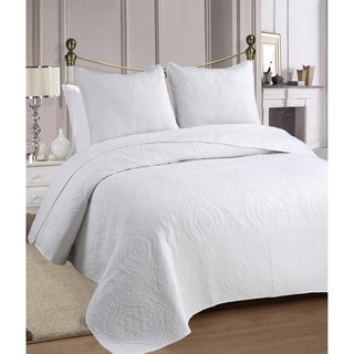Medallion Cotton 3-piece Quilt Set